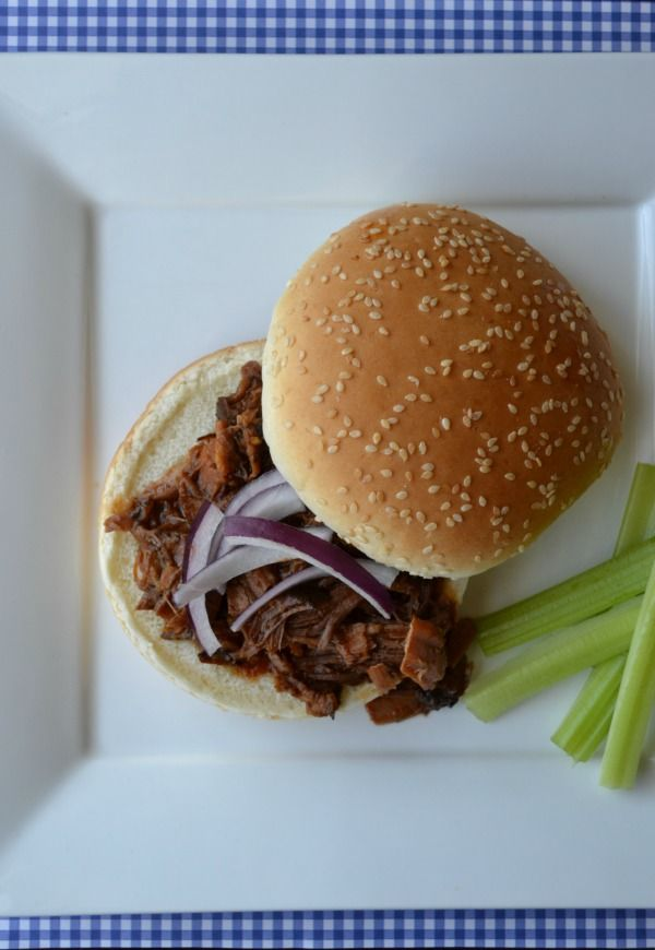 Slow Cooker Root Beer BBQ Beef Sandwiches