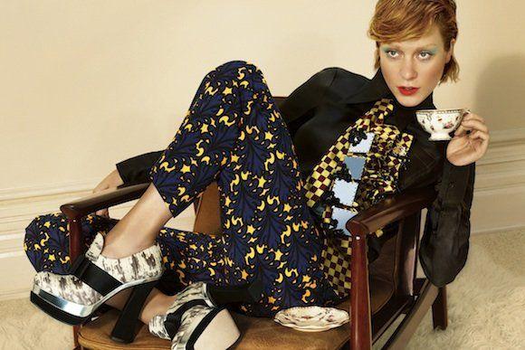 Chloë Sevigny Stars in Miu Miu's FW12 Campaign | Fashion Magazine | News. Fashion. Beauty. Music. | oystermag.com