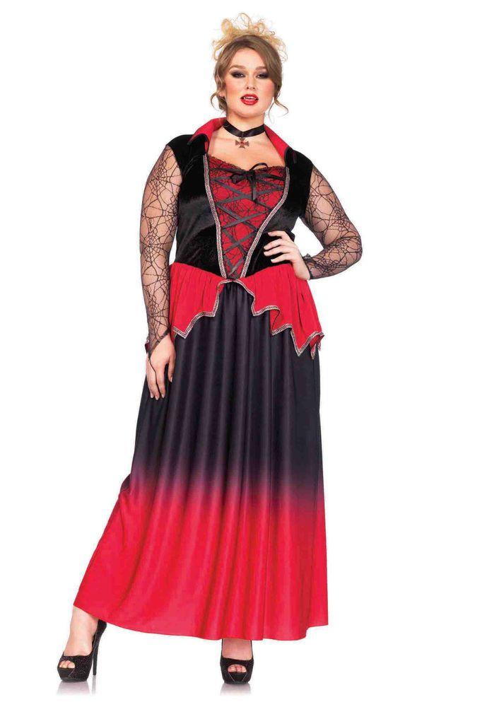 just bitten vampire beauty plus size halloween costume mr - Halloween Costume Plus Size Ideas