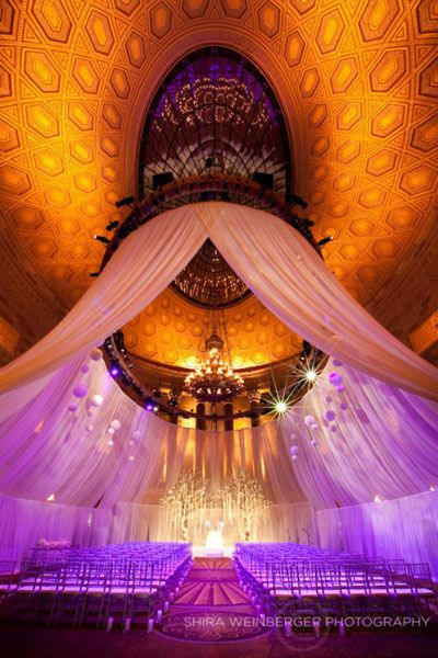 More gorgeous drapery perfect for Arabic and Indian wedding decor #PPEvents