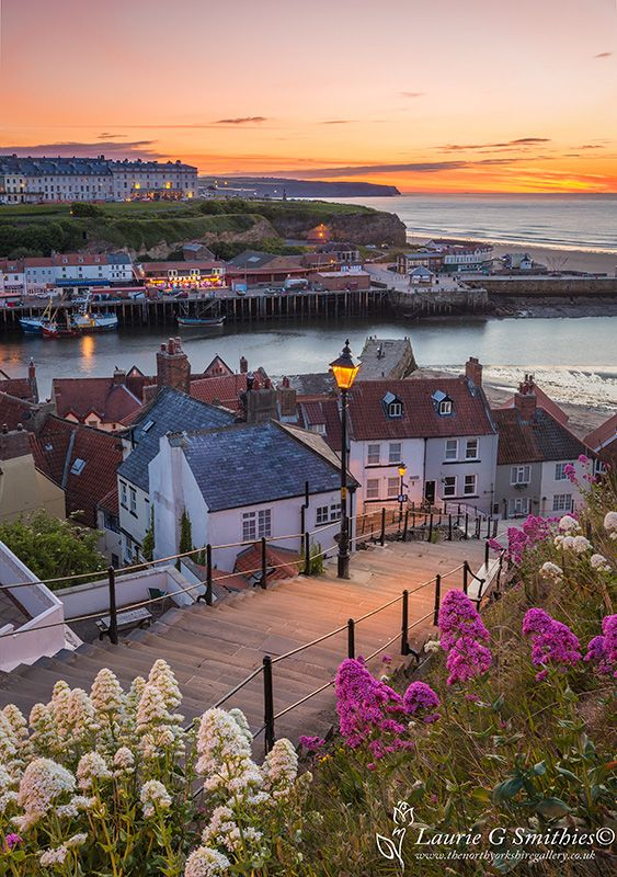 Buy this stunning photo of the 199 Steps at Whitby, own as a fine art print or canvas to enjoy in your own home or office.