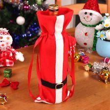 New Merry Christmas Santa Wine Bottle Bag Cover Xmas Dinner Party Table Decor