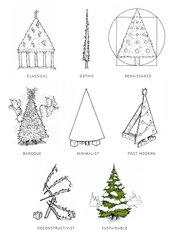 merry christmas architect architecture architectural
