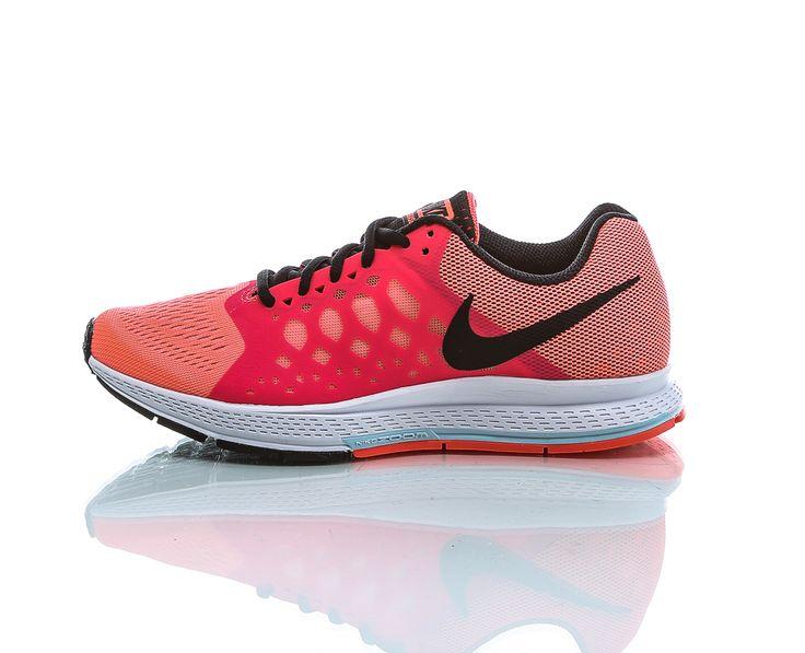 Nike - Air Zoom Pegasus 31   Løpesko   Orange/Rosa   www.sportamore.no online   Sportamore.no – Mote på nett