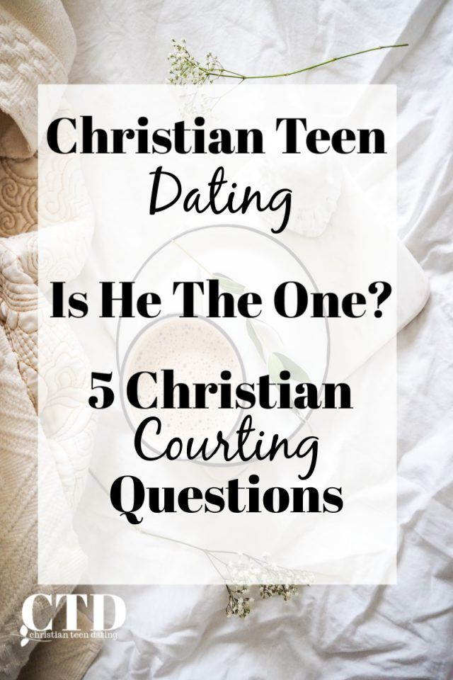 christian dating and courtship advice