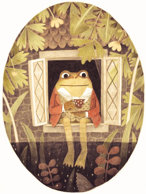 Jeremy Fisher, for A Celebration of Beatrix Potter: Art and letters by more than 30 of today's favorite children's book illustrators.