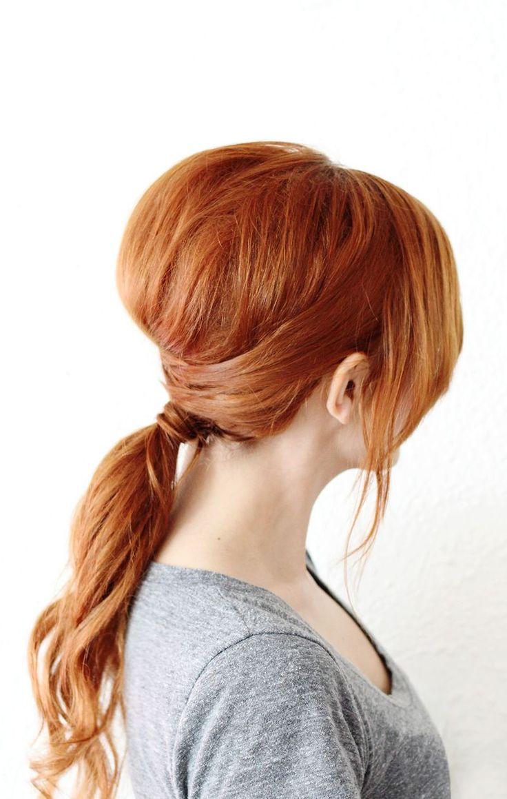 best 25+ teased ponytail ideas on pinterest | ponytail with braid