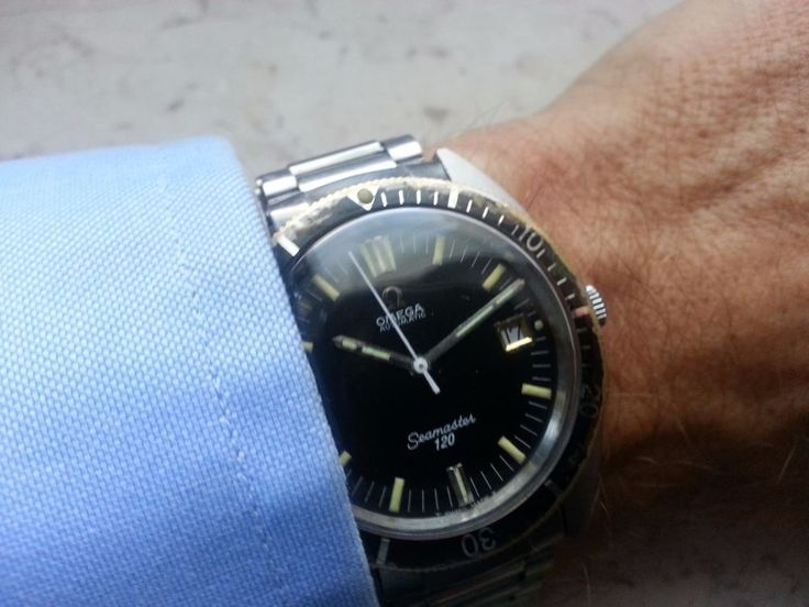 OMEGA Seamaster 120 automatic, vintage diver watch, amazing conditions  | eBay