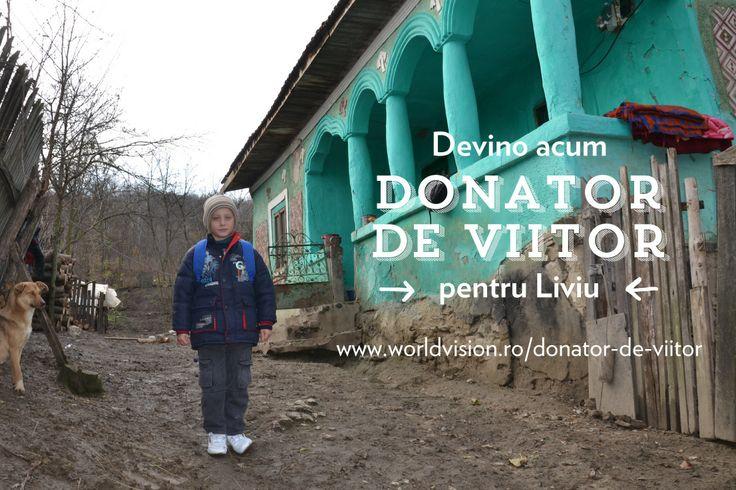 Azi va demonstrez de ce ''Donator de viitor'' este un program magic. Pentru ca nimeni pe lumea asta, nici macar Mos Craciun, nu poate aduce un prieten pe viata. Ceea ce, #donatordeviitor face. Daca vreunul din voi devine donatorul meu, ii voi scrie scrisori, ii voi trimite poze, iar World Vision Romania il va tine la curent cu tot ce se intampla in proiectele care urmeaza sa fie implementate la mine in sat. http://www.worldvision.ro/donator-de-viitor
