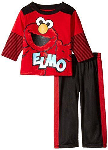 Sesame St Baby Boys' 2 Piece Elmo Pant Set, Red, 18 Months Sesame Street http://www.amazon.com/dp/B00V53PELG/ref=cm_sw_r_pi_dp_2zmIwb1Q4T13J