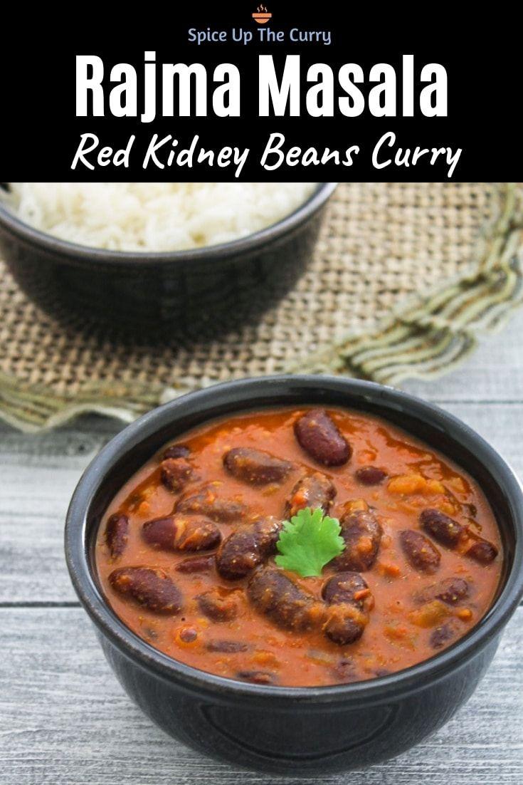 Punjabi Rajma Masala Kidney Beans Curry Spice Up The Curry Recipe Rajma Masala Recipe Curry Recipes Indian Food Recipes