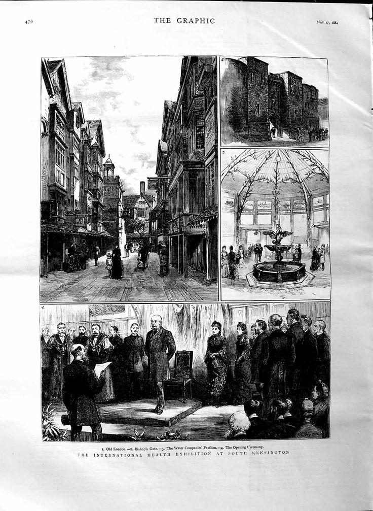 1884 International Health Exhibition Kensington