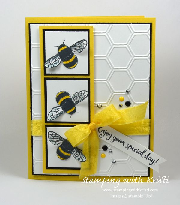 Stampin Up Dragonfly Dreams card by Kristi @ www.stampingwithkristi.com