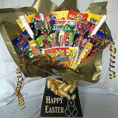 Xxl #retro sweet #hamper bouquet #(great easter gift),  View more on the LINK: 	http://www.zeppy.io/product/gb/2/281636085871/