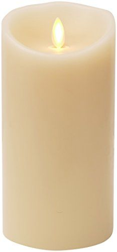 "Luminara Flameless Candle: Unscented Moving Flame Candle with Timer (7"" Ivory) >>> For more information, visit image link."