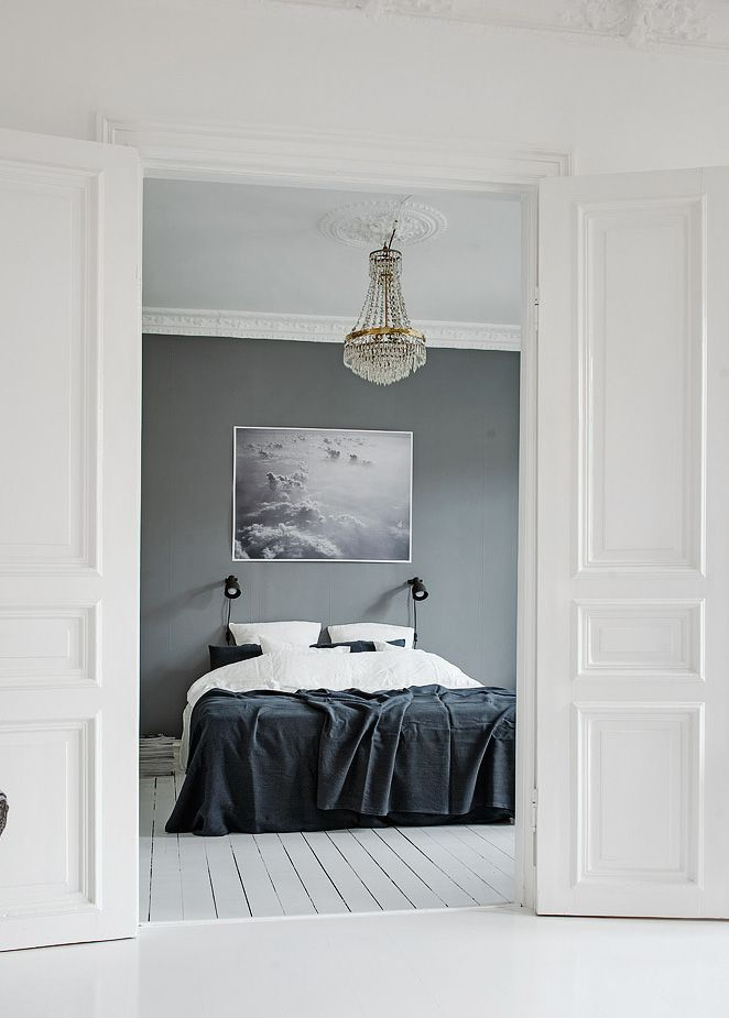 25 best ideas about grey feature wall on pinterest grey. Black Bedroom Furniture Sets. Home Design Ideas