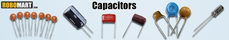 Best online place to buy Metalized polyester film capacitor, Polyester Film and Electrolytic Capacitors in India at affordable Price by Robomart.