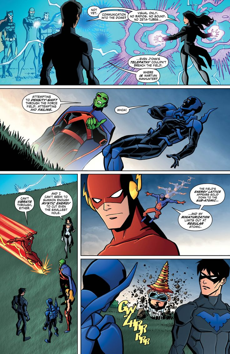 Young Justice issue #22 page 4 #YoungJustice #Nightwing