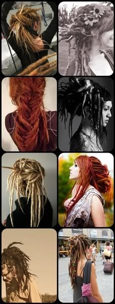 inspiration...all these are beautiful and wonderful :) I want dreadlocks more than