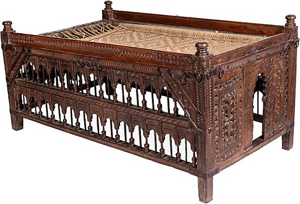 19th-C. Indian Rope Bed on OneKingsLane.comBeds, Indian Furniture, Teak Iron Rops 2 225 00, 1 125 00 Onekingslane Com, Indian Ropes, 28 25 H Teak Iron Rops, 1 149 00 Onekingslane Com, Asian, Indian Child