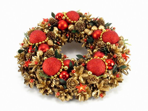 Christmas Wreath Winter Decorations Ornament by ZielonePalce