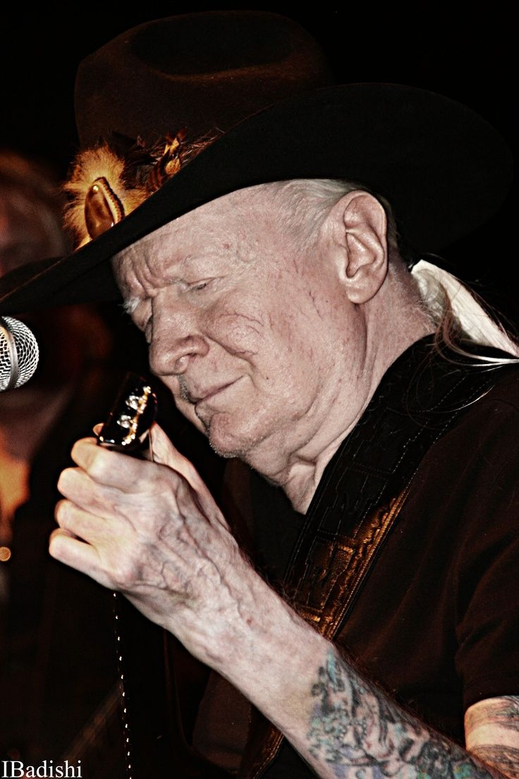 Johnny Winter some time around 2012-2014.