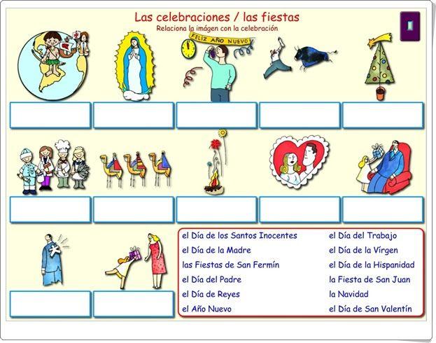 """""""Las celebraciones/Las fiestas"""" (Ciencias Sociales de Primaria)"""