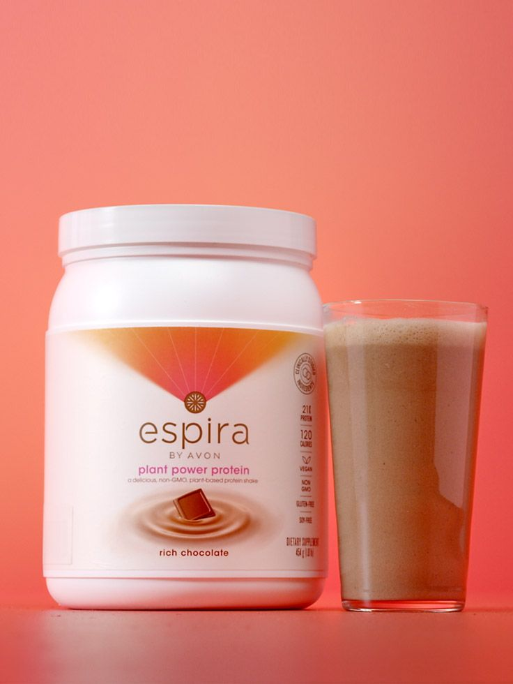 Looking for a healthy plant power protein powder to add to as a daily snack replacement? Ask me about Espira by Avon!