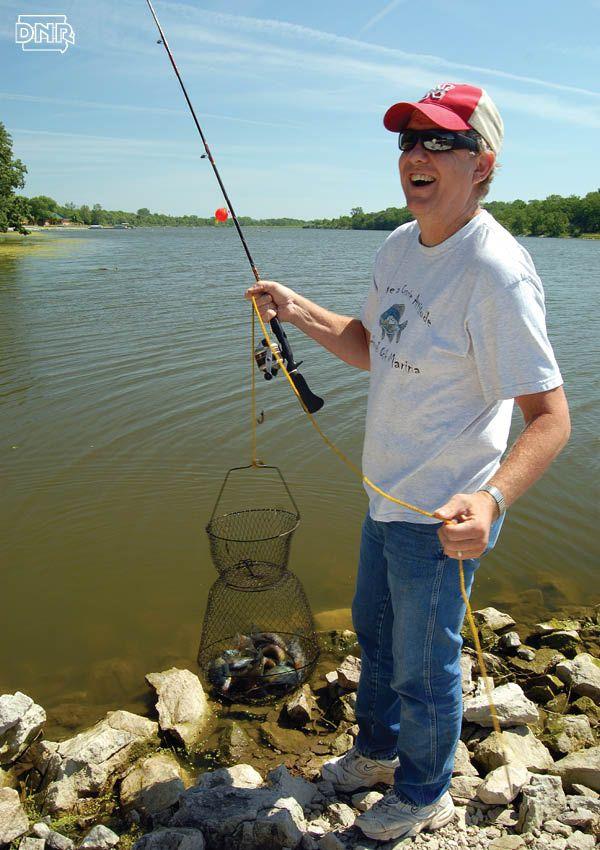 Fishing has picked up at southwest iowa 39 s viking lake for Iowa fishing lakes