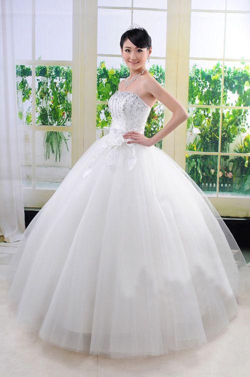 【楽天市場】ウェディングドレス披露宴 演奏会 結婚式 二次会ドレスウェディングドレス新作 ウェディングドレス:YBワールド