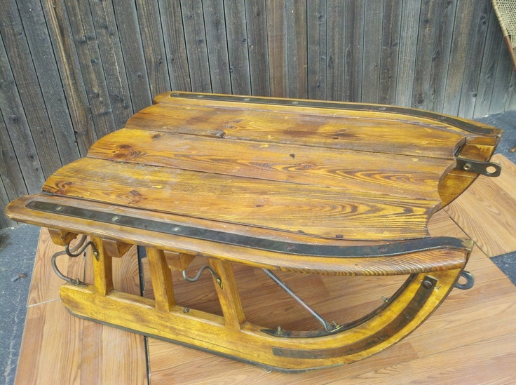 Logging Sled Coffee Table   Large Version | ~ SNOW SLEDS ~ | Pinterest |  Squares