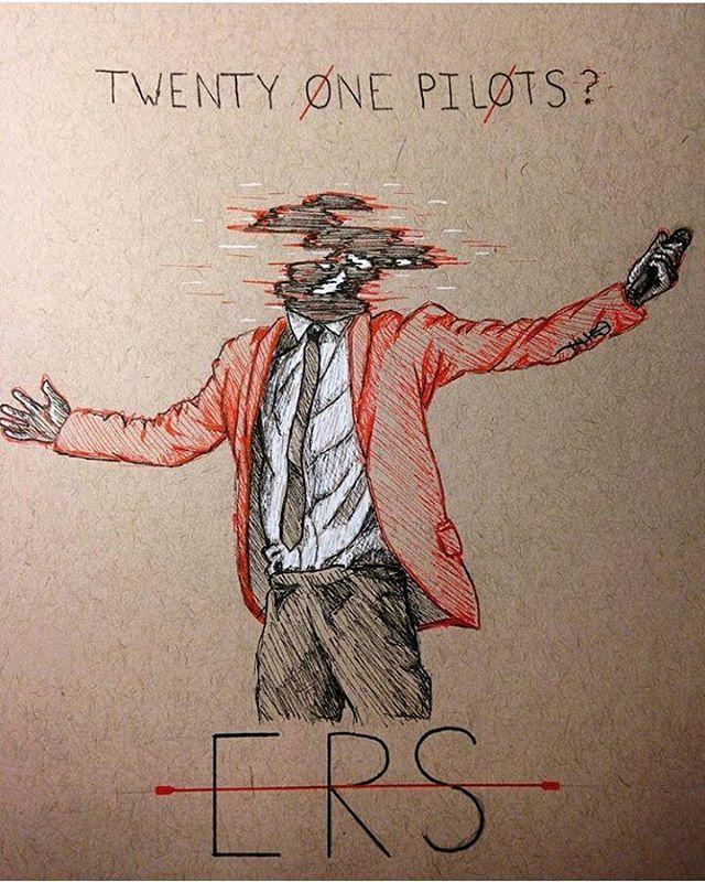 Clique Art -/ Twenty One Pilots Tyler Joseph