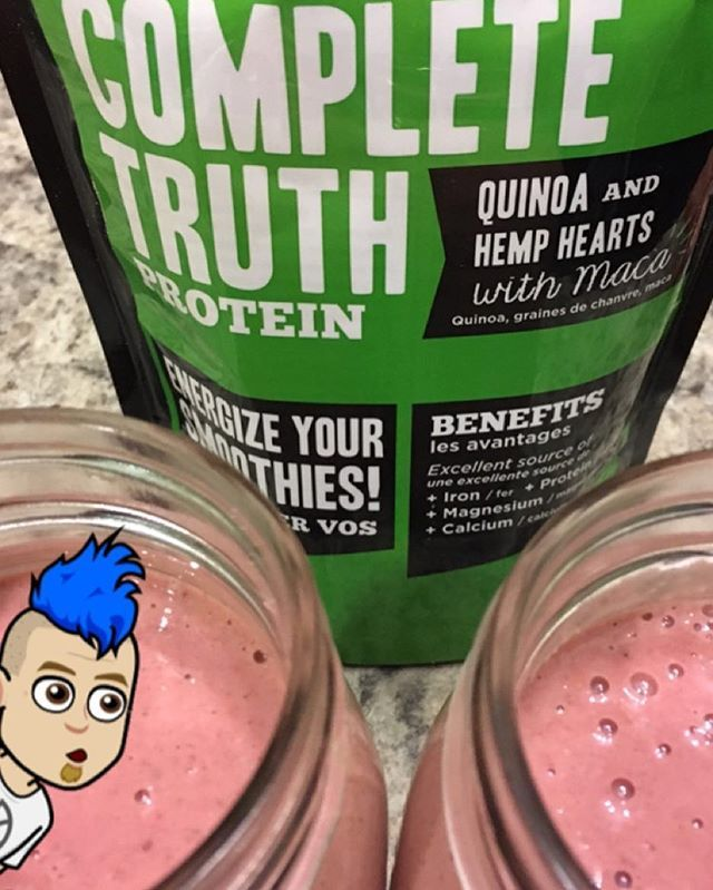 Nothing like an all natural boost to your #smoothies with #ctp #completetruthprotein  # Great for #breakfast to #energize your day or even a mid afternoon snack! # #glutenfree #dairyfree #soyfree #raw #vegan #trueformlife
