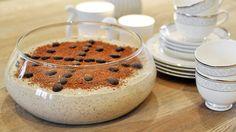 Mokkafromasj er den perfekte desserten til festbordet.Og så er den rask og lett å lage.