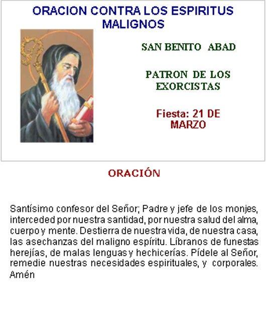 SAN BENITO ABAD, EL PATRONO DE LOS EXORCISTAS