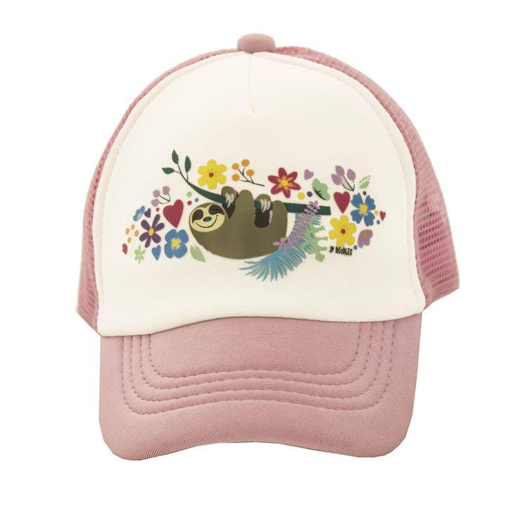 Sloth, Baby Trucker Hat, Toddler Trucker Hat, Kids Trucker Hat, Girls Trucker Hat, Girls Snapback, Kids Snapback, Girls Baseball Cap by JPDOoDLES on Etsy https://www.etsy.com/listing/467602492/sloth-baby-trucker-hat-toddler-trucker