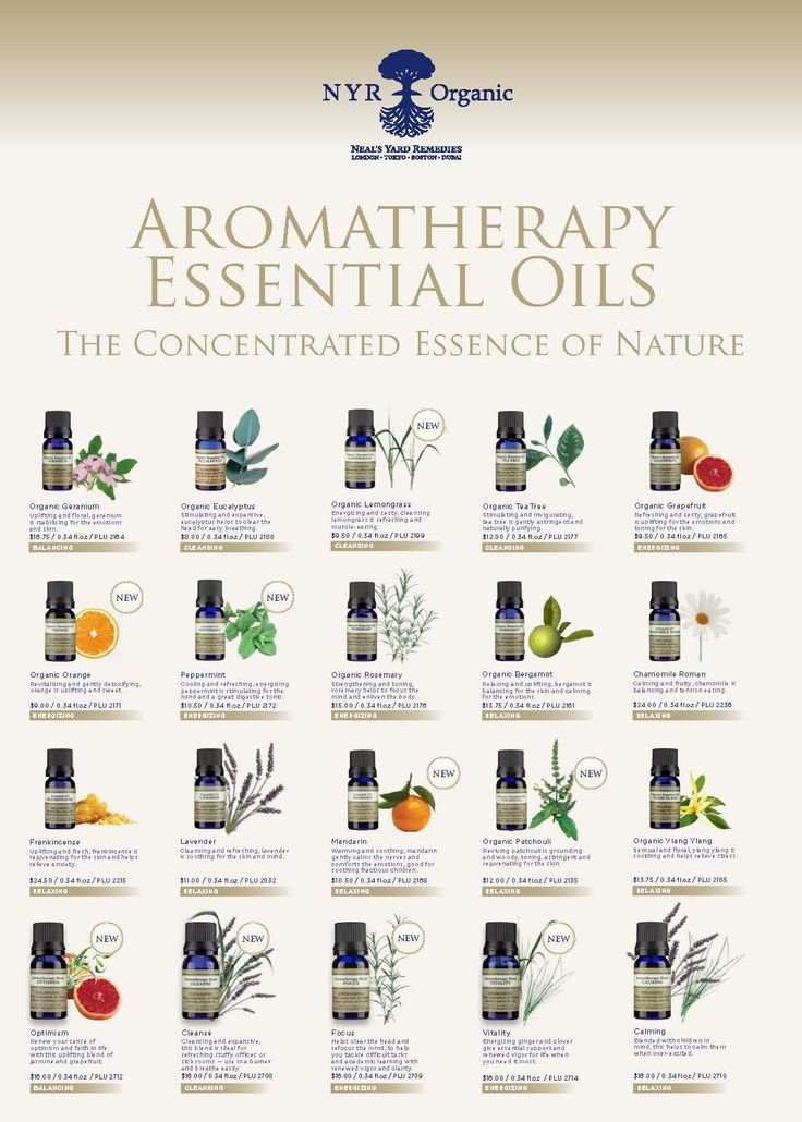 Neal's Yard Remedies Aromatherapy Essential Oils for ever moment and emotion in your life