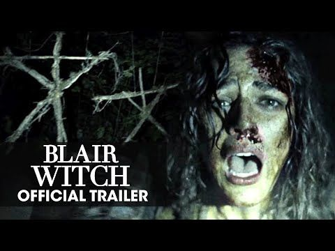 "BLAIR WITCH  (2016 Movie) Trailer - ""Don't Go In There"" 