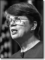 March 11, 1993  Janet Reno is confirmed by the United States Senate and sworn in the next day, becoming the first female Attorney General of the United States.
