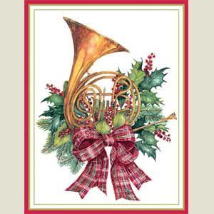 8 best Christmas Horns images on Pinterest | Horns, French horn ...