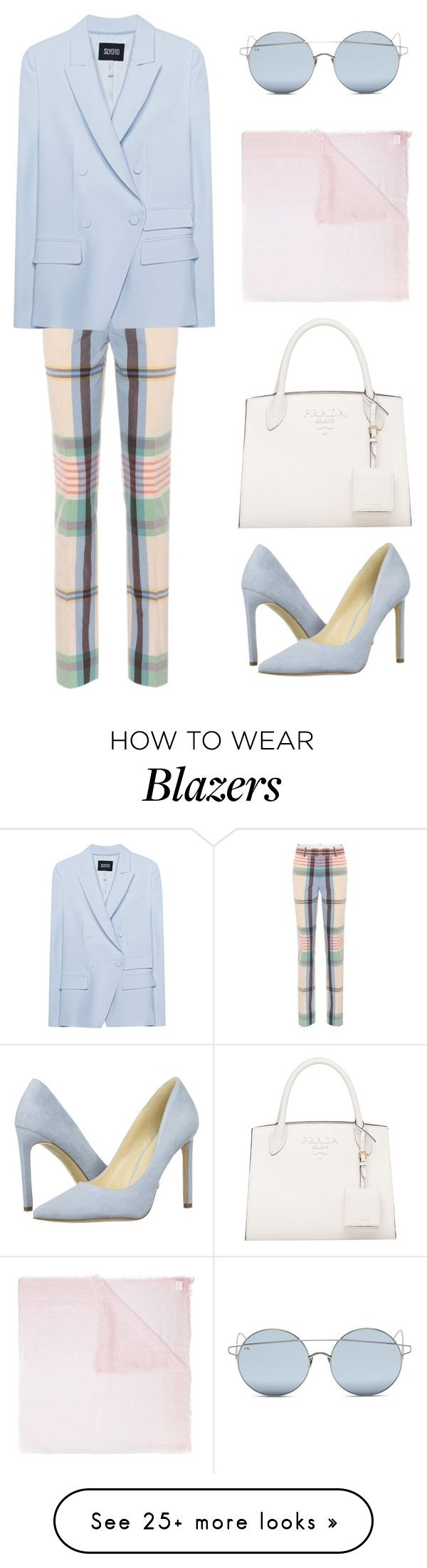 """""""Untitled #668"""" by rebecky89 on Polyvore featuring For Art's Sake, Victoria Beckham, SLY 010, Nine West and Faliero Sarti"""