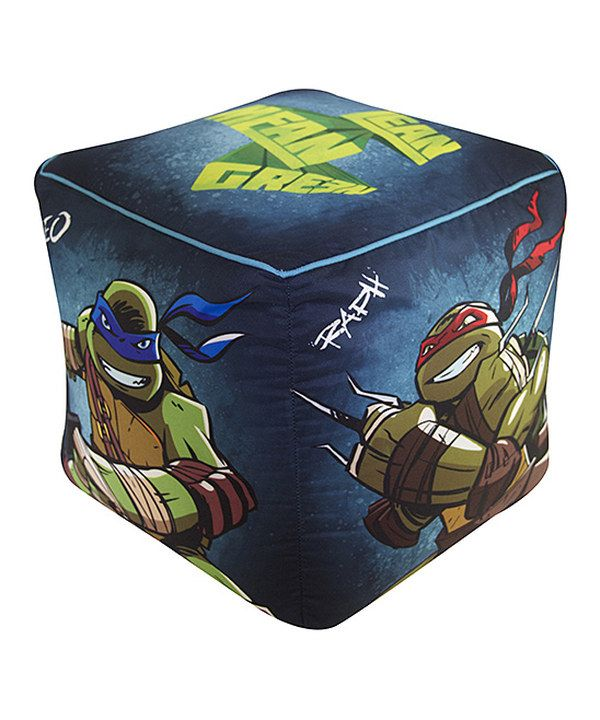 This Tmnt Kids Ottoman Cube By Teenage Mutant Ninja