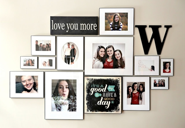 Framed Photography Wall Grouping