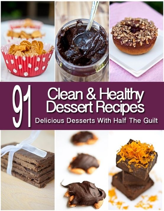 91 Delicious Desserts With Half The Guilt From www.TheGraciousPantry.com by coleen