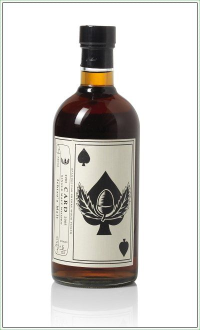 "Rare Japanese Whiskies Go On Auction In Hong Kong: Hanyu Ichiro's Malt ""Card"" Ace Of Spaces #whisky"