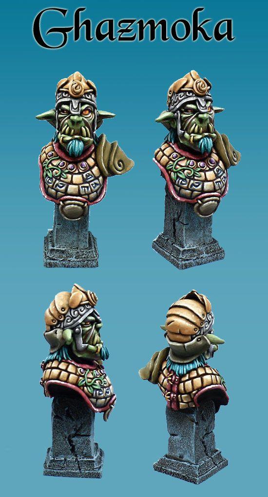 Ghazmoka from Minicromm miniatures !