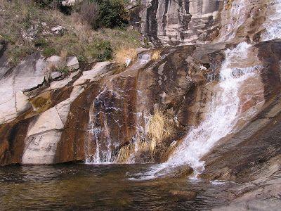 El salt de Gualba i el gorg Negre (Vallès Oriental)