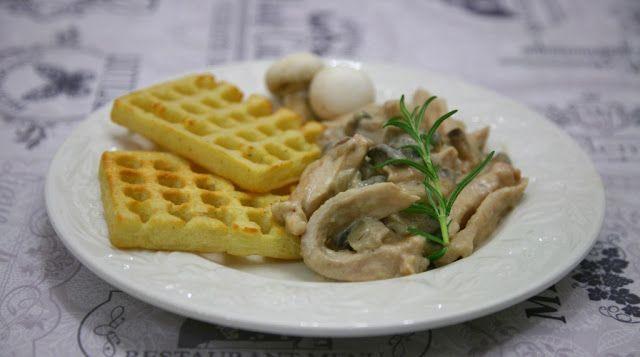Viaggio Di Gusto: Straccetti di pollo con yogurt greco e champignon