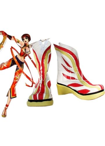 $100.49 Dynasty Warriors Sun Shang Xiang Imitated Leather Rubber #Cosplay #Shoes