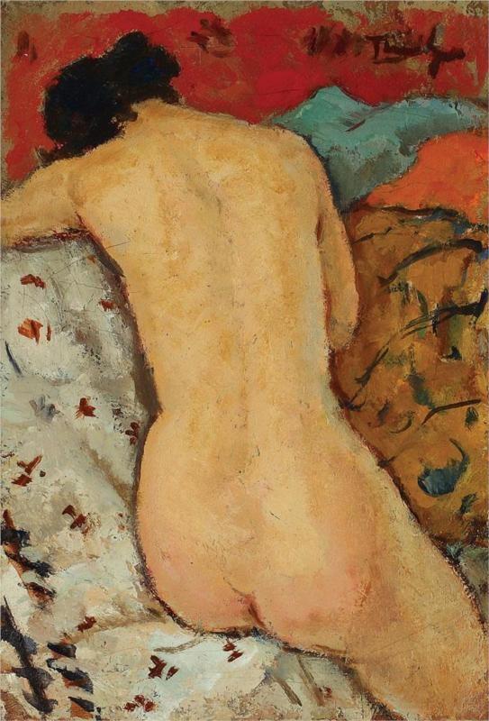 Nude in the Thalamus  Nicolae Tonitza (Romanian - 1886 - 1940)
